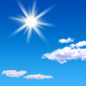 Tuesday: Sunny, with a high near 69. Southwest wind 5 to 15 mph, with gusts as high as 25 mph.